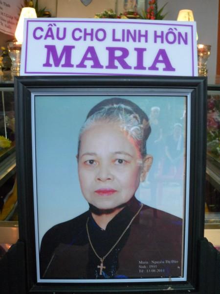 Maria Nguyễn thị Đào(bà Bường)
